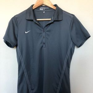 Nike Ladies Golf Polo Small Dri Fit